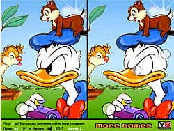 Duck and Chipmunks Differences