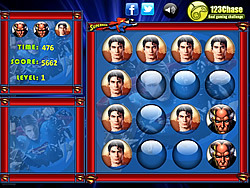 Superman Memory Balls Game