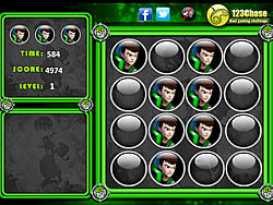 Ben 10 vs Alien Memory Balls