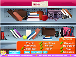 School Store Hidden Objects