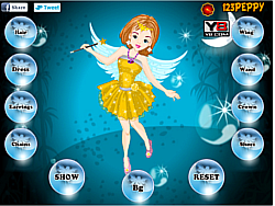 Peppy Fairy Girl Dress Up