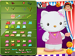 Zoe With Hello Kitty Dressup