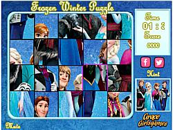 Frozen Winter Puzzle