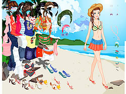 Thailand Beach Dress up