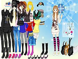 Girl Emo Fashion