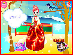 Korean Princess Dressup