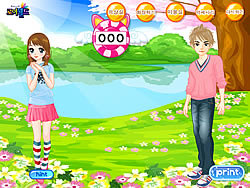 Girl's Rush Dressup