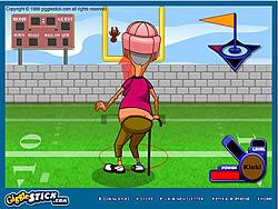 Grampa Grumble Field Goal Challenge