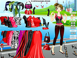 Blank and Red Dressup