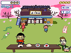 Hiroshi & David - Shooting Onigiri